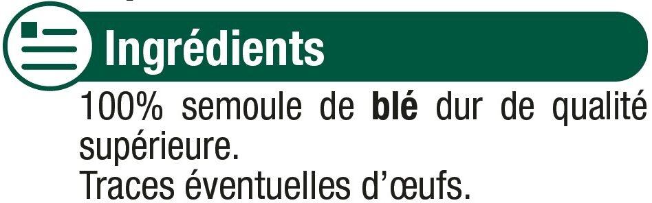 Coquillette qualité supérieure - Ingredients - fr