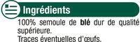 Macaroni qualité supérieure - Ingrédients - fr