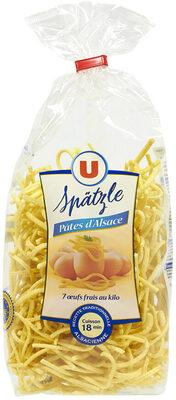 Pâtes aux oeufs Späetzle IGP d'Alsace - Product