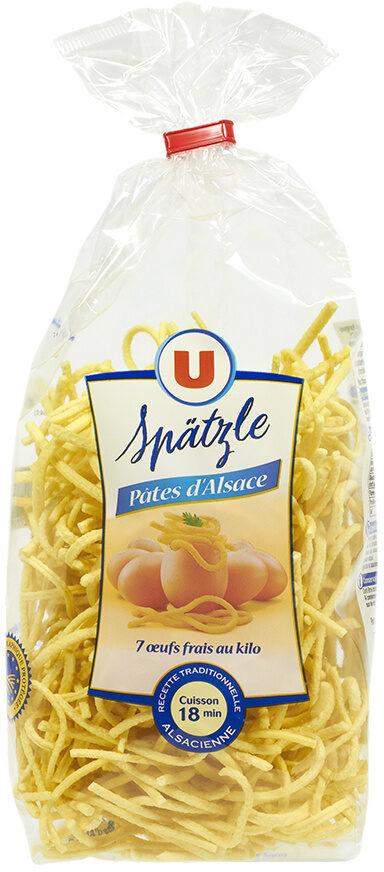Pâtes aux oeufs Späetzle IGP d'Alsace - Product - fr
