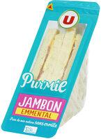 Sandwich Pur Mie Jambon-Emmental - Product