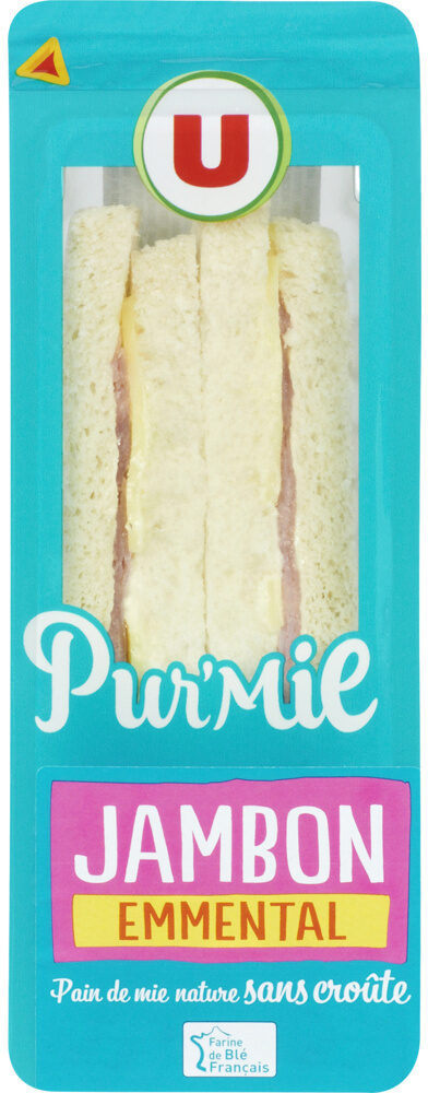Sandwich Pur Mie Jambon-Emmental - Product - fr