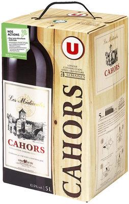 Vin rouge AOC Cahors Les médiévales - Product