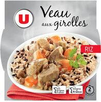 Veau aux Girolles et son Riz - Produkt - fr