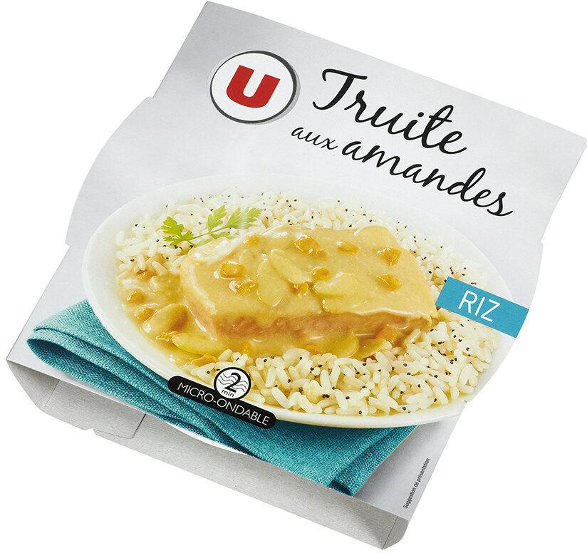 Filet de truite aux amandes et son riz au pavot - Prodotto - fr