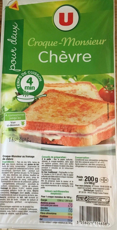 Coque-Monsieur Chèvre - Produit - fr