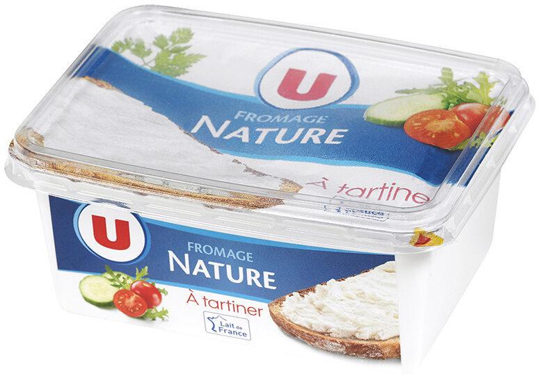 Fromage nature au lait pasteurisé 5% MG - Product