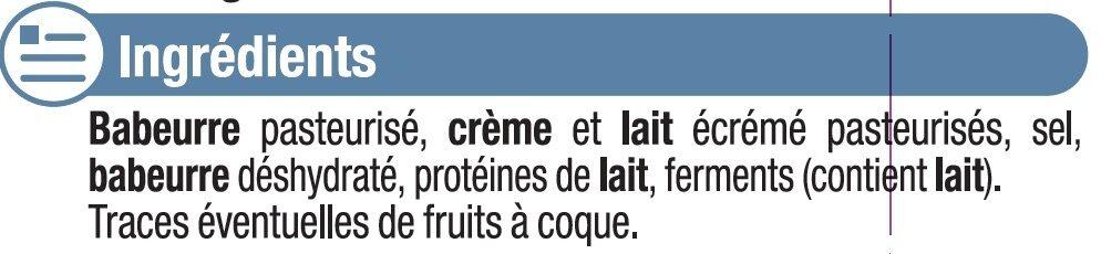 Fromage nature au lait pasteurisé 5% MG - Ingredients