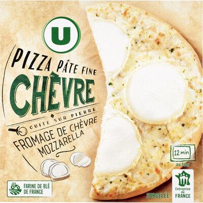 Pizza au chèvre - Produit - fr