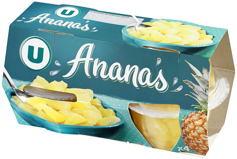 Coupelle de fruits à l'ananas - Product