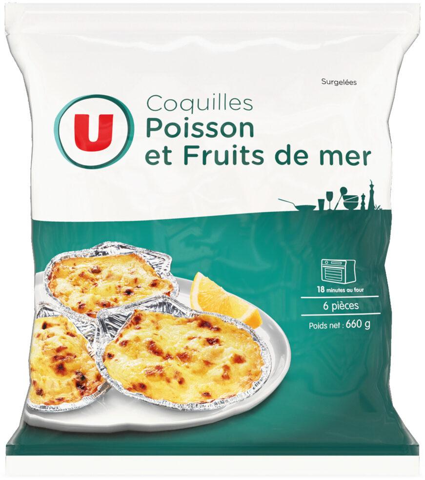 Coquilles de poisson et fruits de mer - Produit - fr