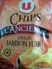 Chips à l'ancienne saveur jambon fumé -