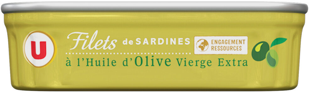 Filets de sardines à l'huile d'olive vierge extra - Product - fr