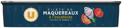 Filets de Maquereaux à l'Escabèche - Product - fr