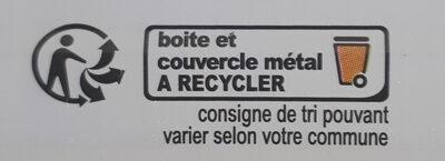 Filets de Maquereaux à l'Escabèche - Recyclinginstructies en / of verpakkingsinformatie - fr