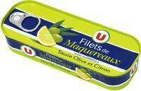 Filets de maquereaux à la sauce olive et citron - Produit