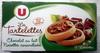 Les Tartelettes Chocolat au lait noisettes caramélisées - Product