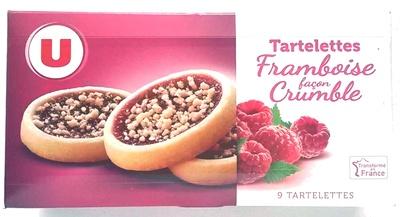 Tartelettes Framboise façon Crumble - Produit