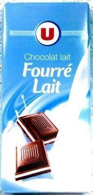 Chocolat lait fourré lait - Produit - fr