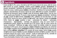 Assortiment biscuits Patissiers - Ingrediënten - fr