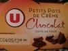 Petits Pots de Crème Chocolat cuits au four - Product