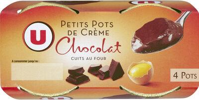 Desserts lactés à la crème aux oeufs frais saveur chocolat - Produit - fr