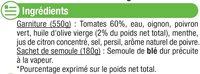 Taboulés - Ingrediënten