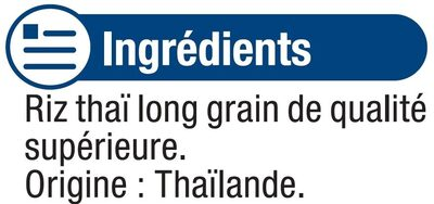 Riz long thaï - Ingrédients - fr