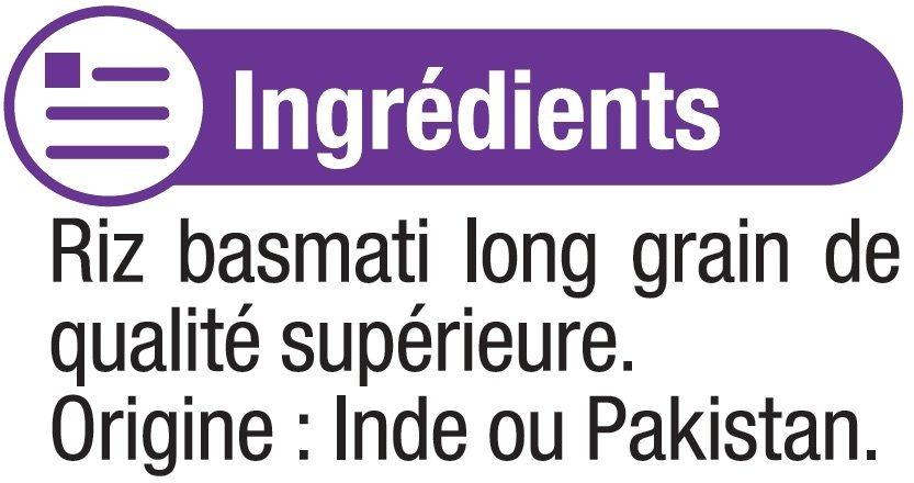 Riz long Basmati - Ingrédients