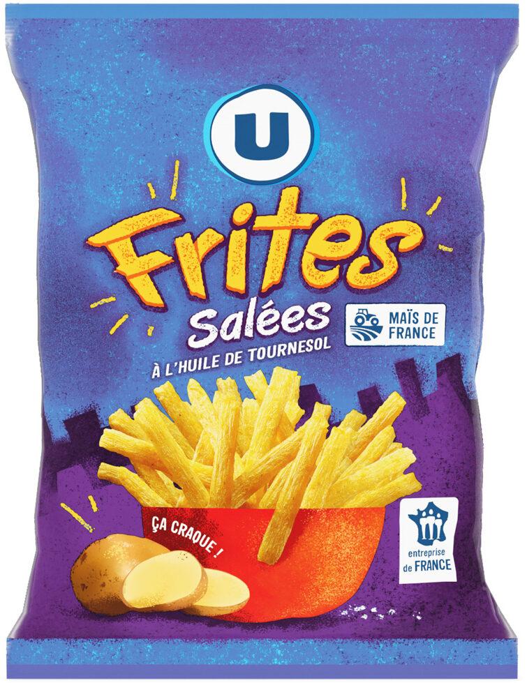 Biscuits apéritifs frite - Produit - fr