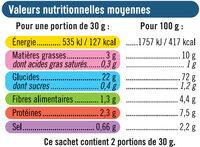 Biscuits apéritifs frite - Informations nutritionnelles - fr