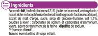 Crackers salés - Ingrediënten