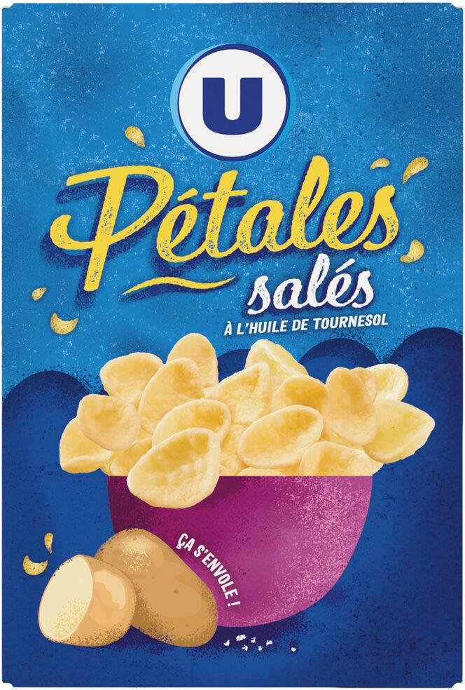 Snacks pétales salés - Produit - fr
