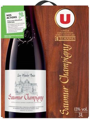 Vin rouge AOC Saumur Champigny Les hauts buis - Product - fr