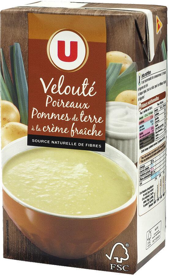 Velouté poireaux et pommes de terre - Product