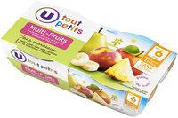Bols pomme multifruits 6 mois - Product - fr