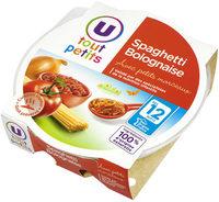 Assiette spaghetti bolognaise - Produkt - fr