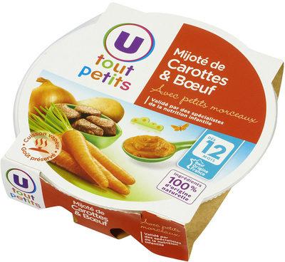 Assiette mijoté de carottes et boeuf - Produkt - fr