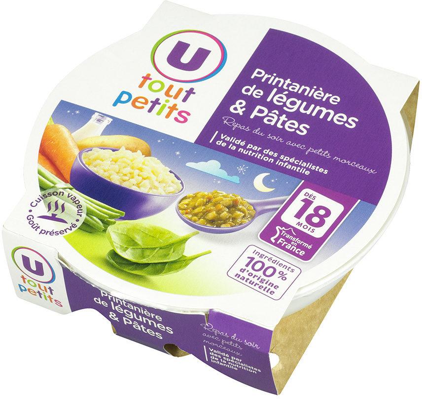 Assiette soir printanière de légumes et pâtes - Produkt - fr