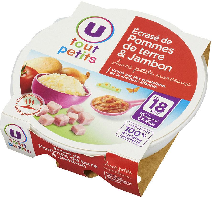 Assiette écrasé pomme terre et jambon - Produkt - fr