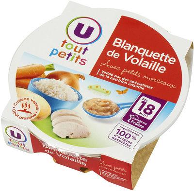 Assiette blanquette de volaille - Produkt - fr