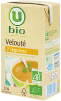 Velouté 7 légumes bio - Produit