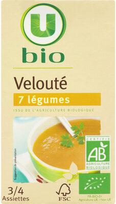 Velouté 7 légumes bio - Produit - fr