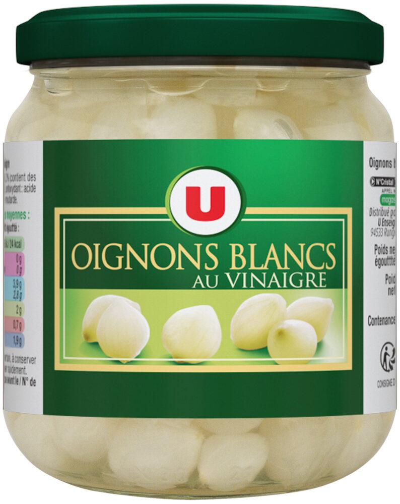 Oignons blancs au vinaigre - Produit - fr