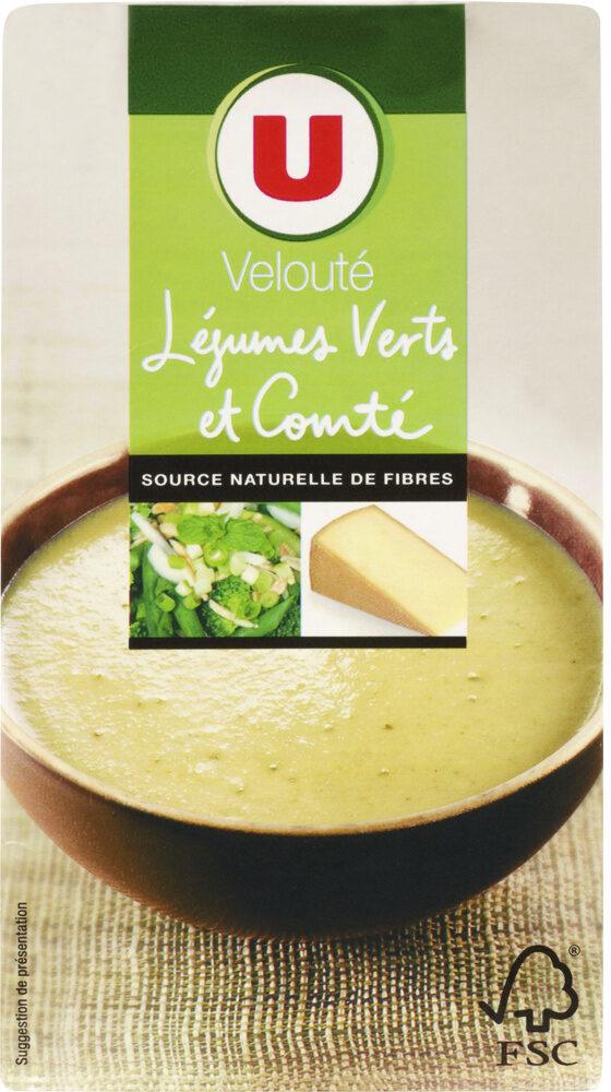 Velouté Légumes Verts et Comté - Product - fr