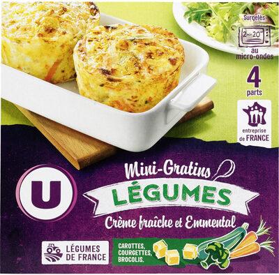 Mini Gratins De Légumes - Product - fr