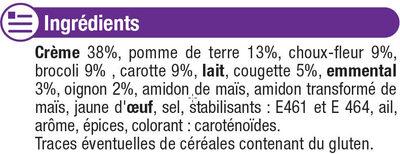 Mini Gratins De Légumes - Ingrediënten - fr