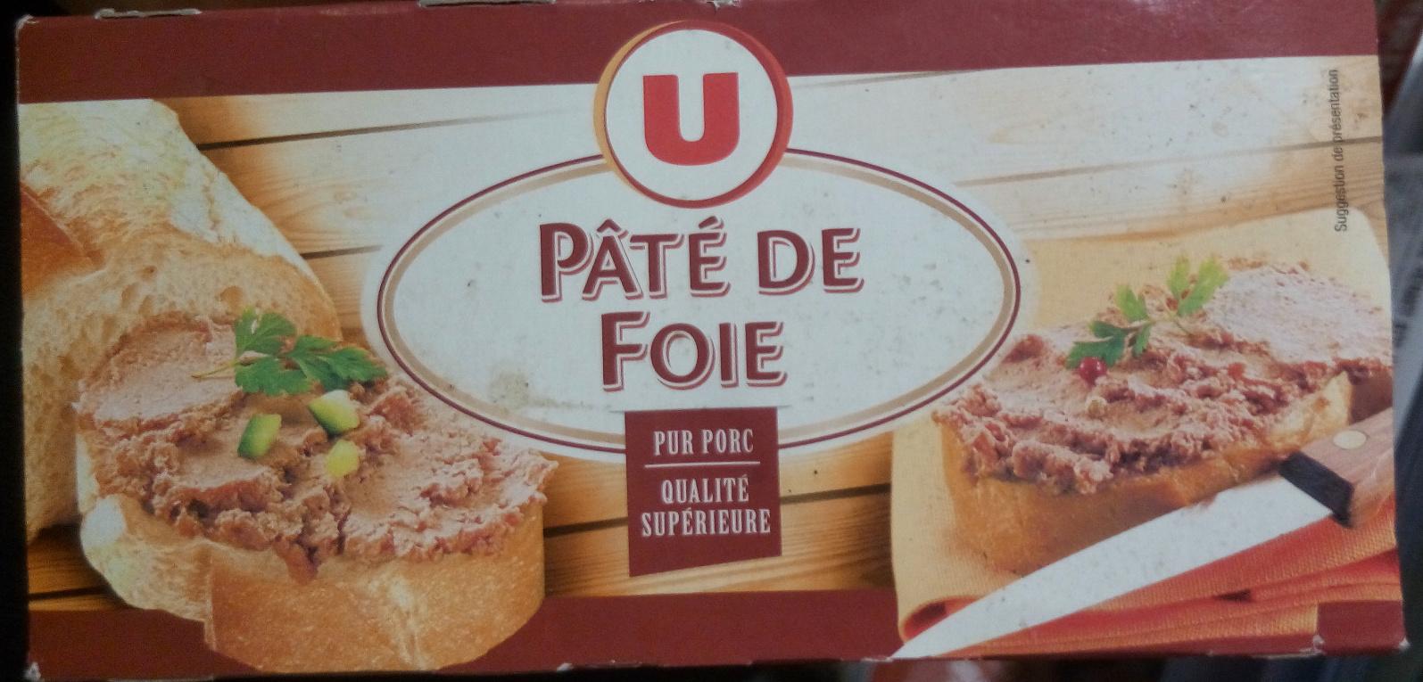 p 226 t 233 de foie pur porc u 320 g 4 x 80 g