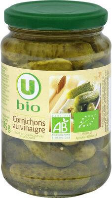 Cornichons biologiques au vinaigre - Produit - fr