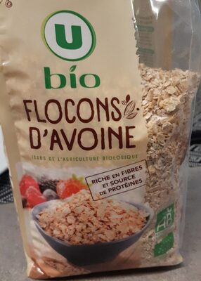Flocons d'avoine bio - Product - fr